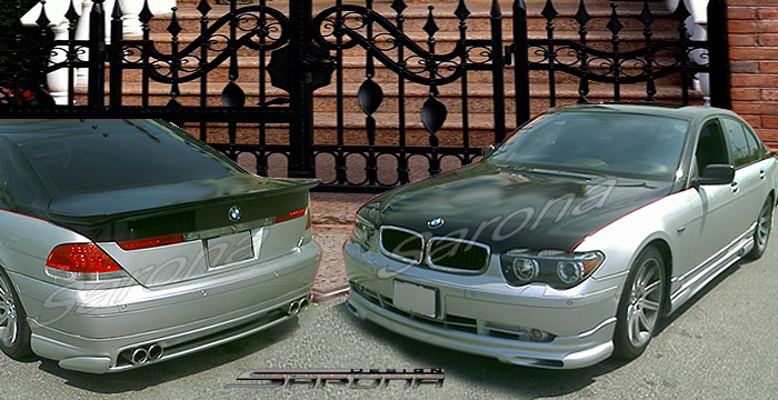 Custom BMW 7 Series Body Kit  Sedan (2002 - 2005) - $1490.00 (Manufacturer Sarona, Part #BM-026-KT)